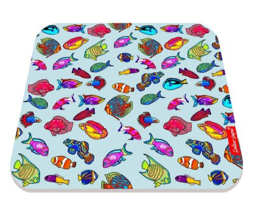 Selina-Jayne Tropical Fish Limited Edition Designer Mouse Mat
